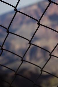 Fence at Grand Canyon