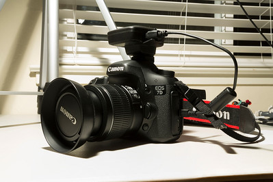 Canon GP-E2 on Canon EOS 7D