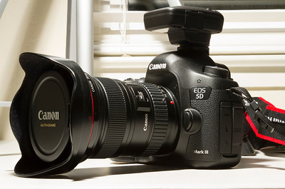 Canon GP-E2 on Canon EOS 5D Mark III
