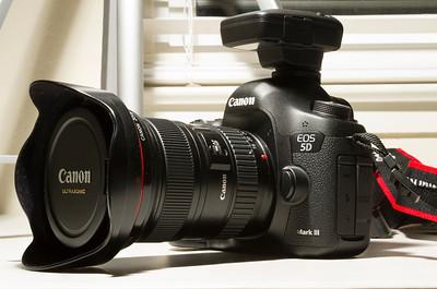 Canon GP-E2 on Canon EOS 5D Mark III