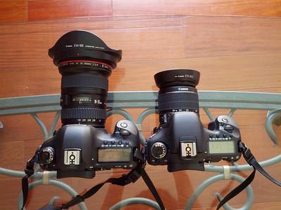 Canon EOS 5D Mark III and Canon EOS 7D