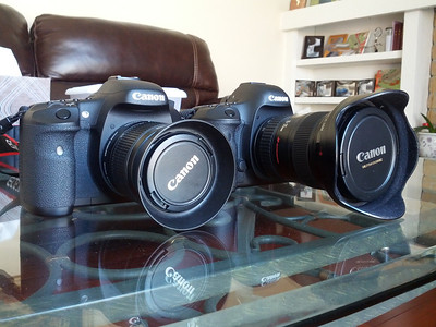 Canon EOS 5D Mark III and Canon EOS 7D