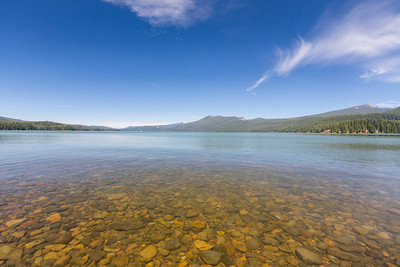 Odell Lake. Deschutes National Forest. Crescent, OR, USA