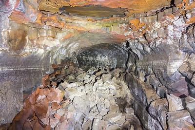 Merrill Cave. Lava Beds National Monument - Tulelake, CA, USA