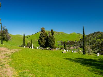 Rose Hill Cemetery. Near Nortonville Road. Black Diamond Mines Regional Preserve. Antioch, CA, USA