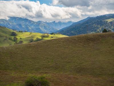 Ohlone Wilderness Trail. Ohlone Regional Wilderness. Alameda County, CA, USA