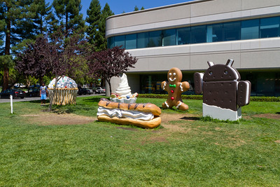 Google Android Building - Mountain View, CA, USA
