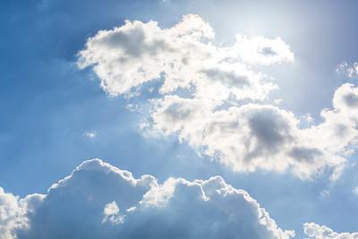 Clouds. Pleasanton, CA, USA