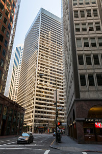 Financial District. San Francisco, CA, USA