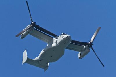 Bell Boeing V-22 Osprey. San Francisco Blue Angels 2012 - San Francisco, CA, USA