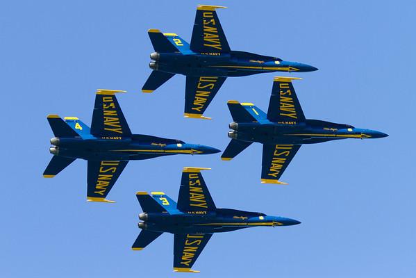 San Francisco Blue Angels 2012 - San Francisco, CA, USA