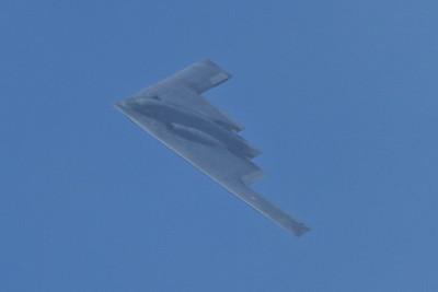 B2 Stealth Bomber. San Francisco Blue Angels 2012 - San Francisco, CA, USA