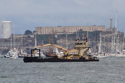 Alcatraz Island. San Francisco, CA, USA