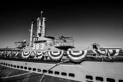 USS Pampanito. Fisherman's Wharf - San Francisco, CA, USA