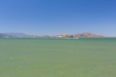 Alcatraz Island. Pier 41 - San Francisco, CA, USA