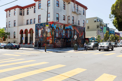 Mission District. San Francisco, CA, USA