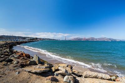 Near San Francisco Marina Yacht Harbor - San Francisco, CA, USA