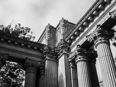 Palace of Fine Arts. San Francisco, CA, USA