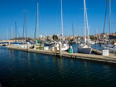 San Francisco Marina Yacht Harbor. San Francisco, CA, USA