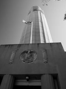 Coit Tower. San Francisco, CA, USA