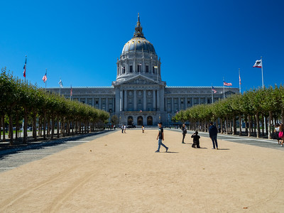 San Francisco City Hall. San Francisco, CA, USA
