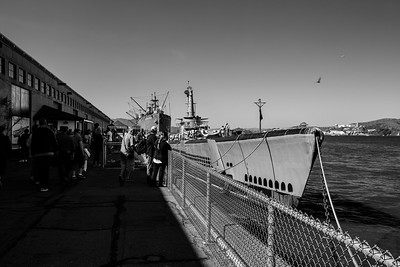 USS Pampanito & SS Jeremiah O'Brien. Fisherman's Wharf - San Francisco, CA, USA