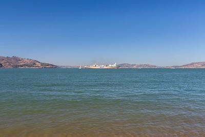 Boat. Crissy Field East Beach - San Francisco, CA, USA