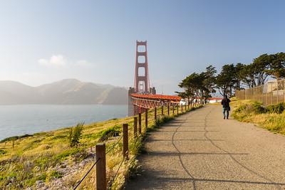 Golden Gate Bridge. Shot by Battery Cranston between Battery Marcus Miller & Golden Gate Bridge. San Francisco, CA, USA