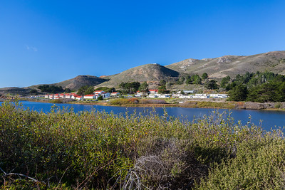 Fort Conkhite & Rodeo Lagoon. Coastal Trail. Marin Headlands. Golden Gate National Recreation Area, CA, USA