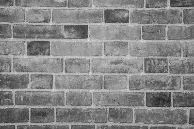 Brick Wall. Fort Point National Historic Site - San Francisco, CA, USA