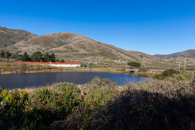 Rodeo Lagoon & Bunker Road. Coastal Trail. Marin Headlands. Golden Gate National Recreation Area, CA, USA