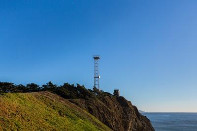 Battery Mendell. Marin Headlands. Golden Gate National Recreation Area, CA, USA