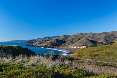 Rodeo Beach & Battery Conkhite. Battery Mendell. Marin Headlands. Golden Gate National Recreation Area, CA, USA