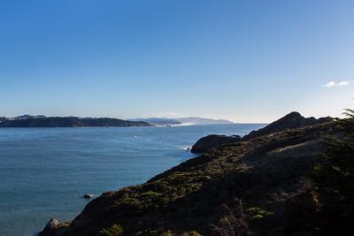 Ocean Beach. Near Bonita Lighthouse Parking. Marin Headlands. Golden Gate National Recreation Area, CA, USA