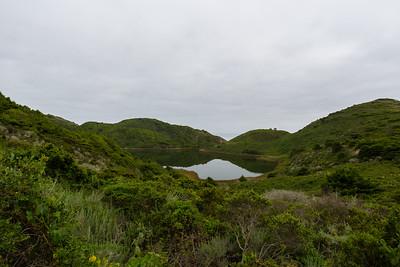 Pelican Lake. Coast Trail. Point Reyes National Seashore, CA, USA