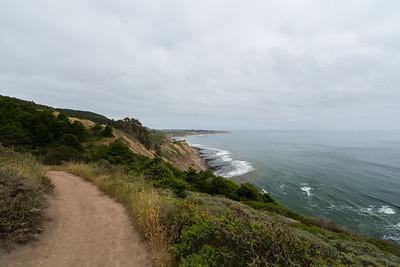Coast Trail. Point Reyes National Seashore, CA, USA