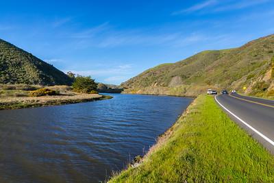 Keys Creek. SR-1 - Tomales, CA, USA