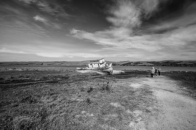 Point Reyes Shipwreck (at Tomales Bay) - Inverness, CA, USA