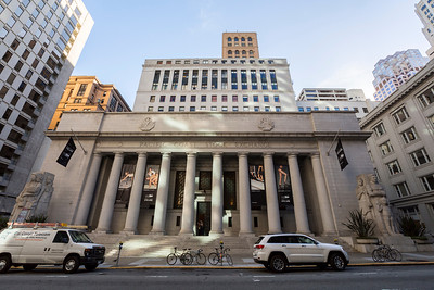 Pacific Coast Stock Exchange. Financial District. San Francisco, CA, USA