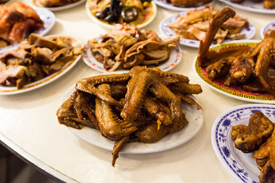 Duck Wings. Chinatown - San Francisco, CA, USA