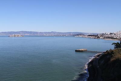 San Francisco and Torpedo Wharf - Golden Gate Bridge - San Francisco, CA
