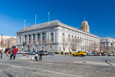 Asian Art Museum. Civic Center Plaza - San Francisco, CA, USA