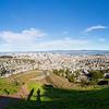 Panorama. Christmas Tree Point - Twin Peaks - San Francisco, CA, USA
