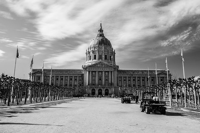 City Hall. Civic Center Plaza - San Francisco, CA, USA
