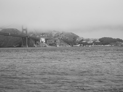 Fort Baker & Golden Gate Bridge. Torpedo Wharf. San Francisco, CA, USA