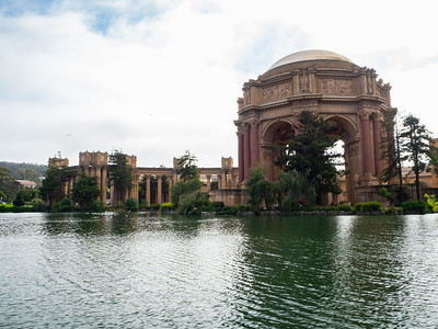 Palace of Fine Arts. San Francisco, CA, USA