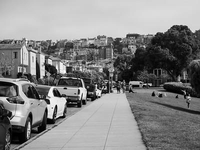 Baker Street. Palace of Fine Arts. San Francisco, CA, USA