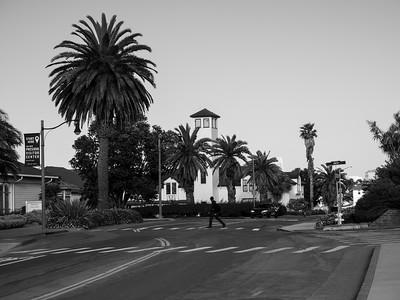 Presidio Fire Department. Across from Presidio Visitor Center. Lincoln Blvd. San Francisco, CA, USA