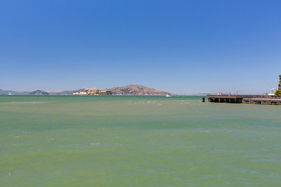Alcatraz Island. Near Pier 41 - San Francisco, CA, USA