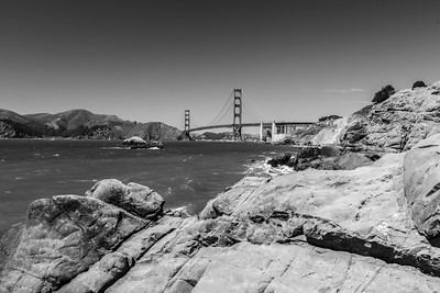 Golden Gate Bridge. Baker Beach - San Francisco, CA, USA